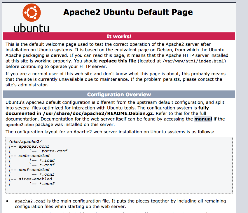 Existing Snap install now just shows Apache default page