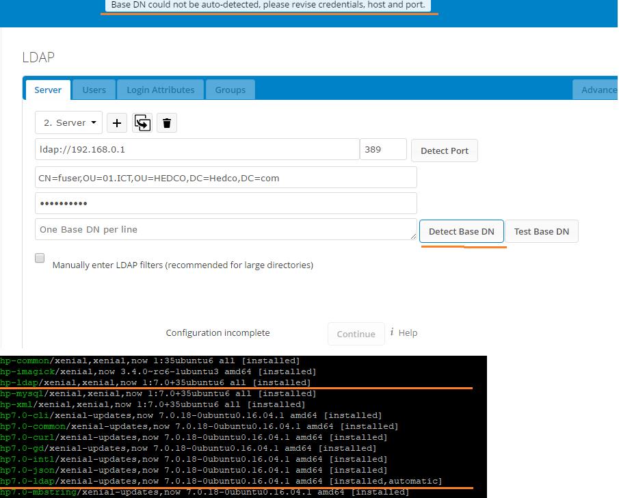 Cannot connect to LDAP Server - apps - Nextcloud community