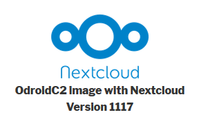 NextcloudOC2 image for Odroid C2 - appliances (Docker, Snappy, VM