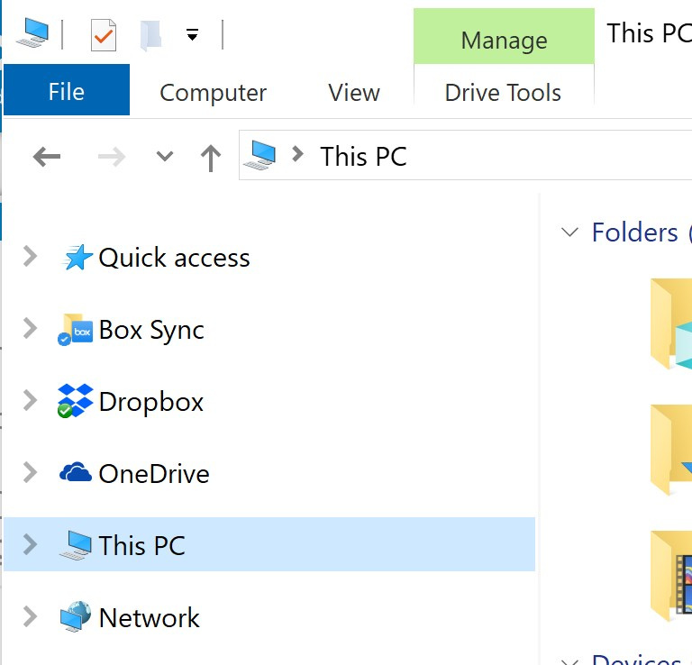 Windows folder sync issues / duplicating folders - desktop