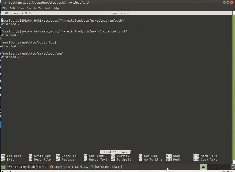 Solved] Nextcloud, Splunk and Splunk app for Nextcloud - general