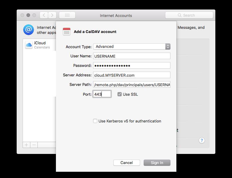 NextCloud / MacOS / CalDav / Woes - support - Nextcloud community
