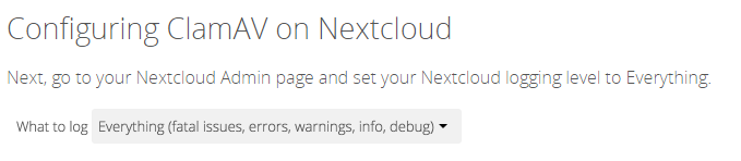 Nextcloud-Antivirus