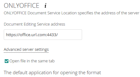Can't connect to OnlyOffice in Nextcloud  server is