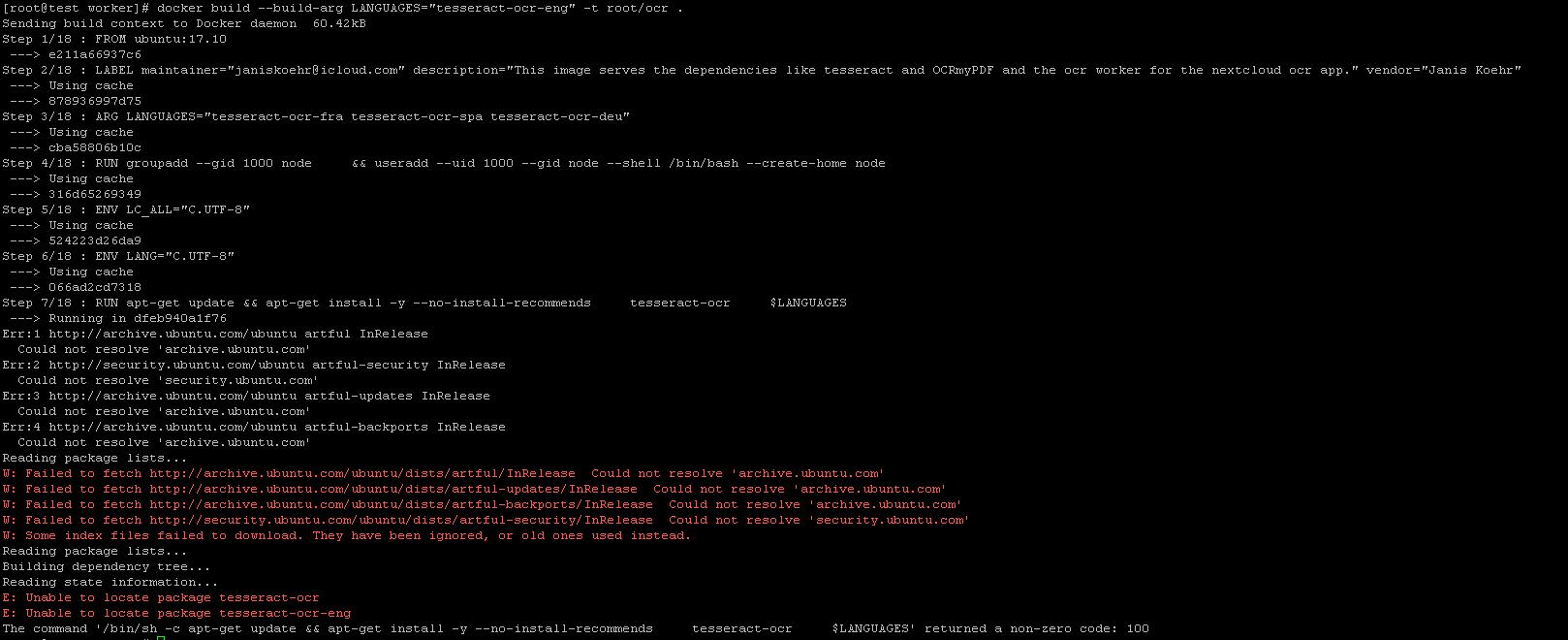 OCRmyPDF doesn't scan - ocr - Nextcloud community