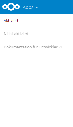 No App-Store shown - support - Nextcloud community