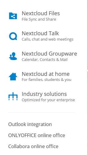 Nextcloud-products