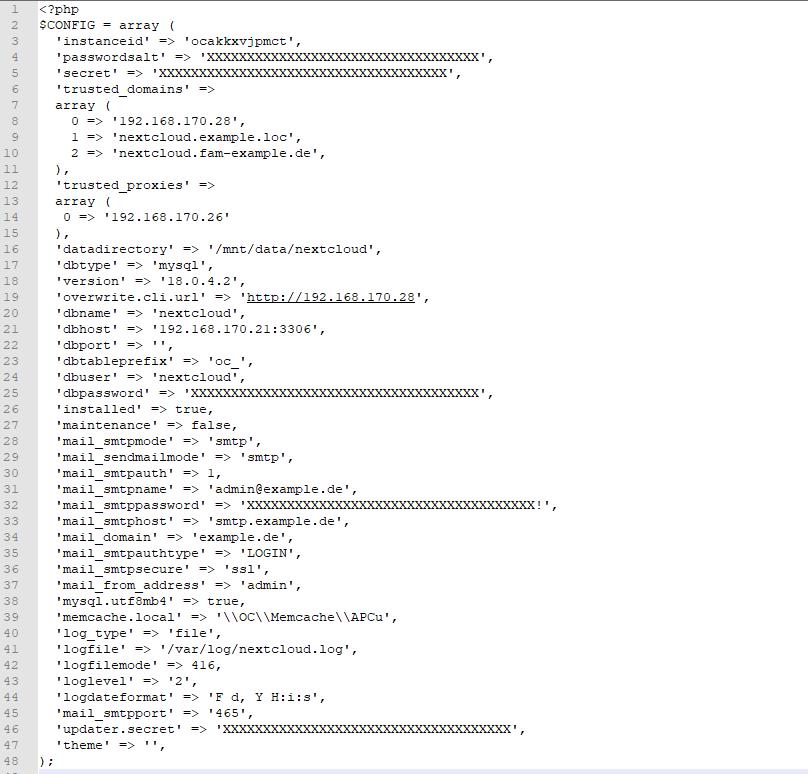 Nextcloud_Config
