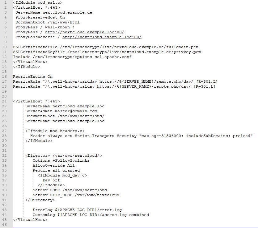 ReverseProxy_NextcloudVirtualHost