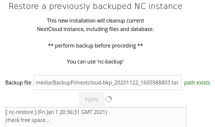 nc-restore
